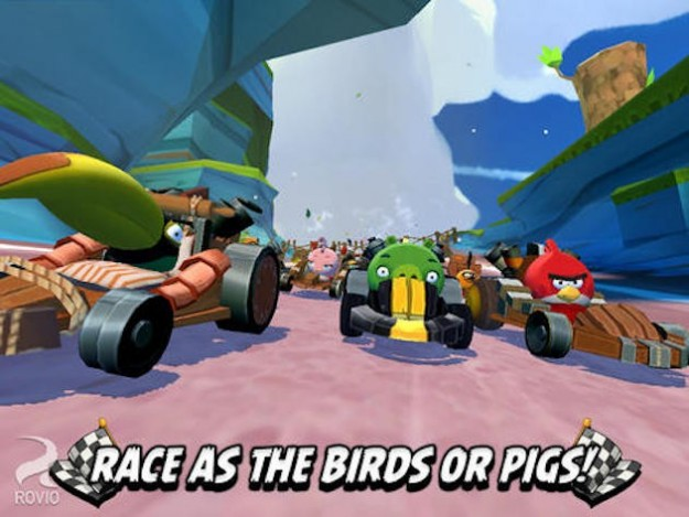 Angry Birds Go per iOS e Android