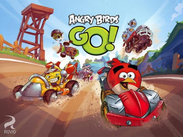 Angry Birds Go: immagini
