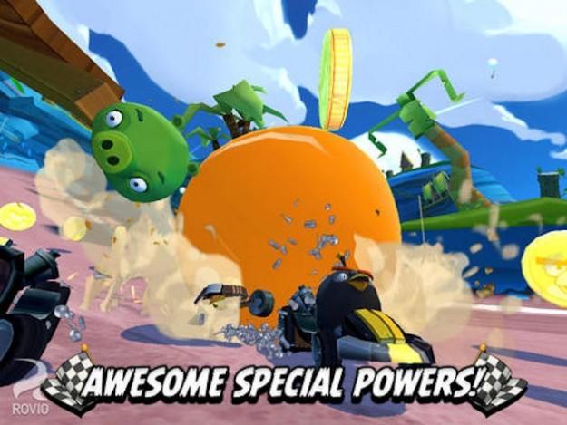 Poteri speciali in Angry Birds Go