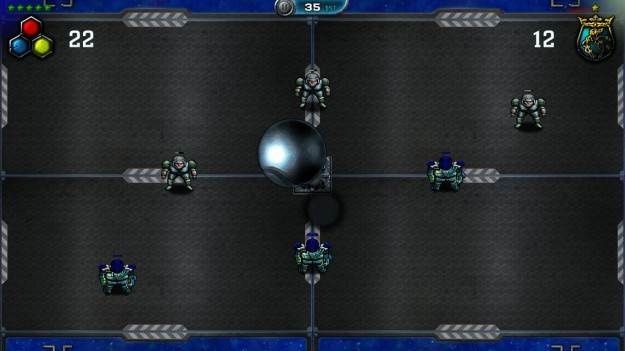 Grafica di Speedball 2 HD