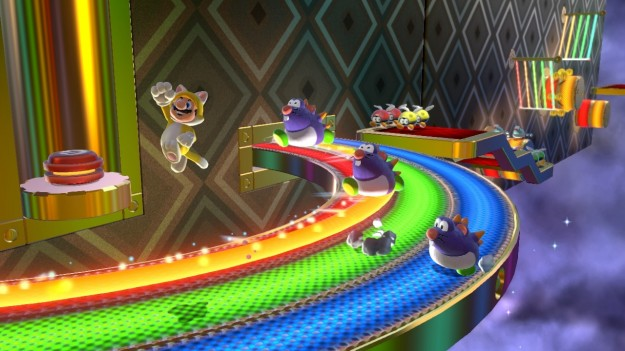 Azione in Super Mario 3D World