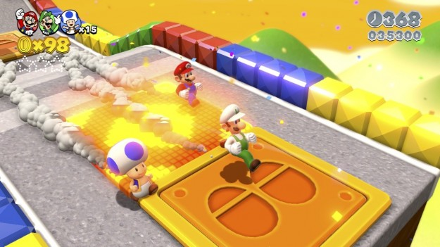 Colori di Super Mario 3D World