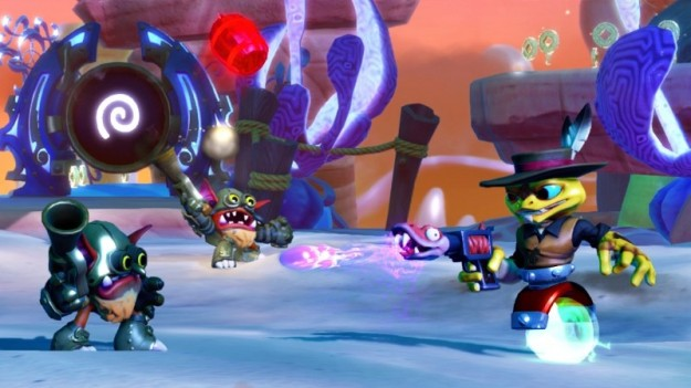 Screenshot di Skylanders Swap Force