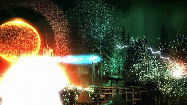 Esplosione in Resogun