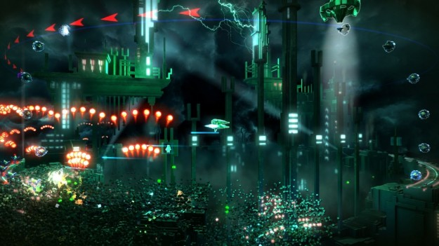 Screenshot di Resogun