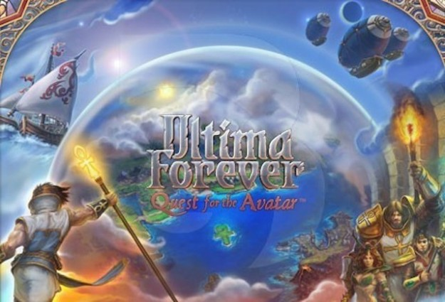 Logo di Ultima Forever Quest for the Avatar
