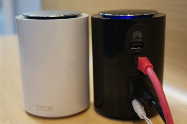 Huawei Tron bianca e nera