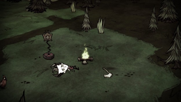 Grafica di Don't Starve