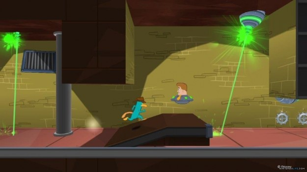 Ambientazione di Phineas and Ferb Quest for Cool Stuff