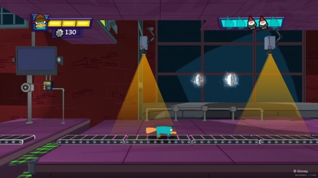 Azione in Phineas and Ferb Quest for Cool Stuff