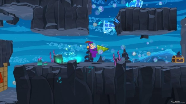 Phineas and Ferb Quest for Cool Stuff: immagini