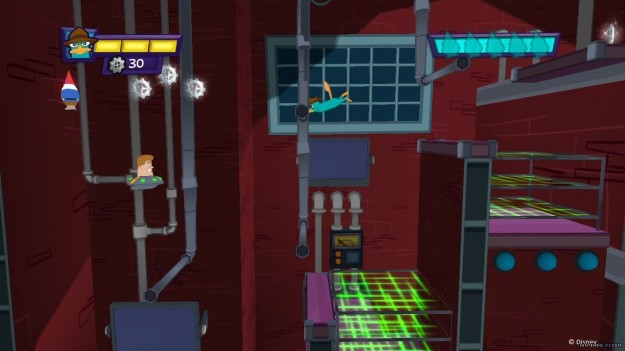Screenshot di Phineas and Ferb Quest for Cool Stuff