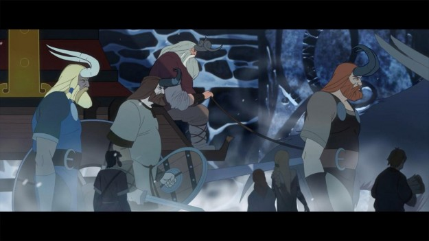 Azione in The Banner Saga