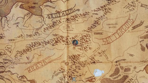 Mappa di The Banner Saga