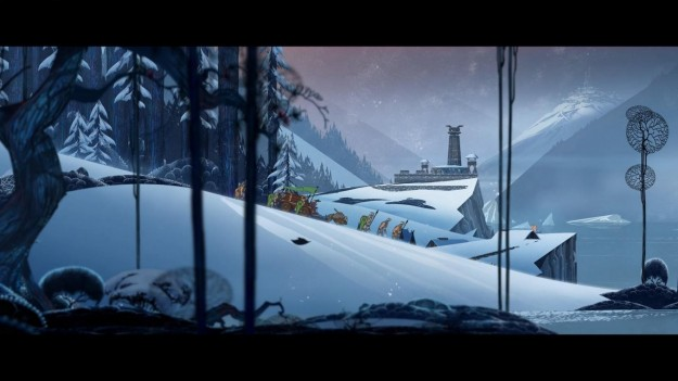 Screenshot di The Banner Saga