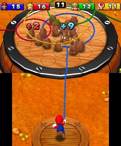 Mario Party Island Tour su 3DS