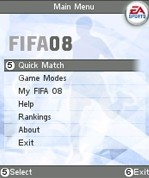 Fifa 2008 per cellulari di Gamelion