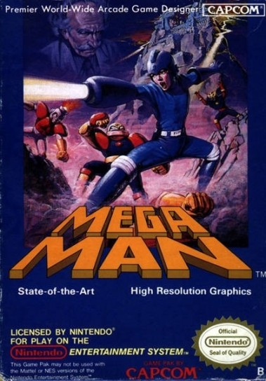 Megaman - artbox