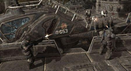Gears of war 2 screen