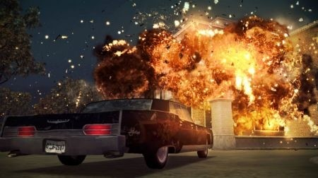 The Godfather 2 esplosione