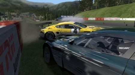 SuperCar Challenge incidente