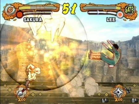 Ultimate Ninja 4: Naruto Shippuden – Prime immagini