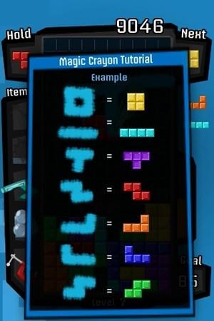 EA Tetris Crayon Mode