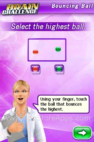 Brain Challenge Bouncing Ball