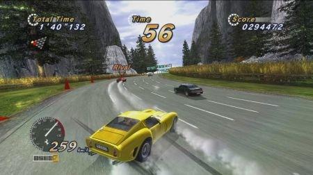 Outrun Online Arcade percorsi