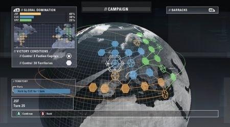 Tom Clancy's EndWare: Mappa
