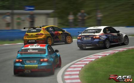 Race On: Curva