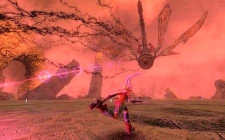 X-Blades: Luce