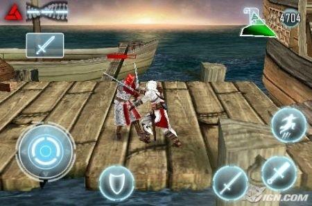 Assassin's Creed iPhone combattimento