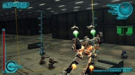 Armored Core 3: Screen