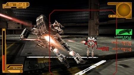 Armored Core 3 per PSP: nuove immagini