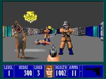 Wolfenstein 3D fps