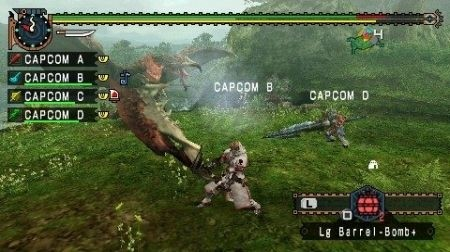 Monster Hunter Freedom Unite: Capcom