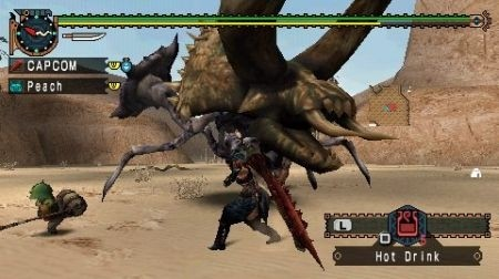 Monster Hunter Freedom Unite: Azione
