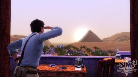 The Sims 3: World Adventures – annuncio