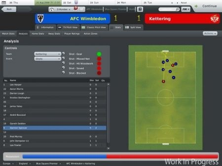 Football Manager 2010: stadio