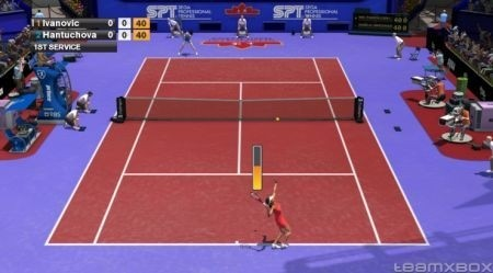 Virtua Tennis 2009: partita