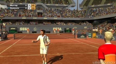 Virtua Tennis 2009: campo