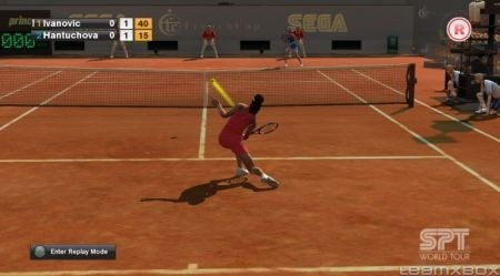 Virtua Tennis 2009: tiro