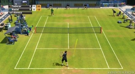 Virtua Tennis 2009: stadio