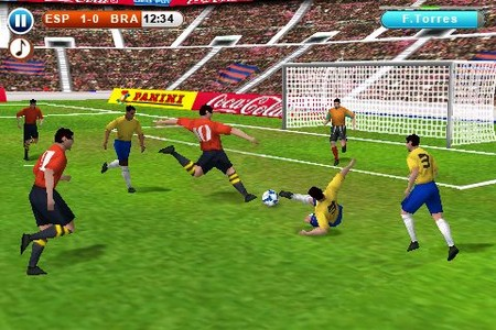 Real Soccer 2010: campo