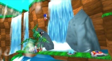 Sonic Rivals: cascata