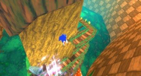 Sonic Rivals: Sonic