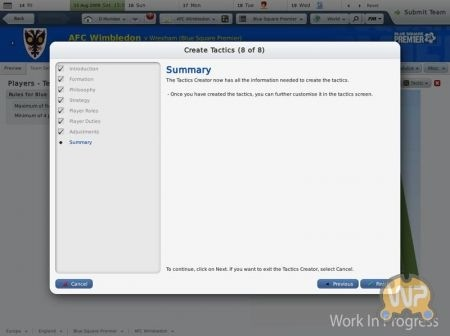 Football Manager 2010: sommario