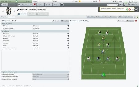 Football Manager 2010: Juventus