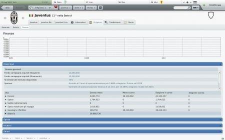 Football Manager 2010: finanze